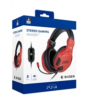 Big Ben Stereo Headset V3 - red (PS4)