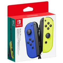 Controllere Joy-Con - blue/neon yellow (SWITCH)