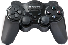 Gamepad Defender AAA, Game Master Wireless - Black (PC)