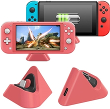 DOBE Mini Charging Dock For Nintendo Switch Lite - Coral
