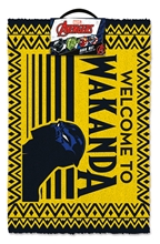 Black Panther (Welcome to Wakanda) Doormat