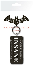 Batman Arkham City Certified Insane - Keyring