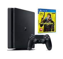 Sony Playstation 4 Slim 500GB + hra Cyberpunk 2077 (PS4)