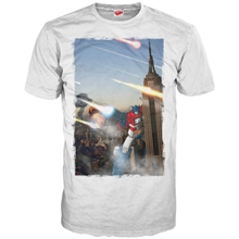 T-Shirt Transformers - Optimus at the Empire State (L)