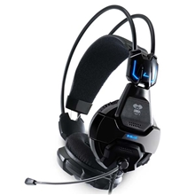 E-blue, Cobra 707, Gaming Headset with Microphone, black, 3.5mm Jack (PC)