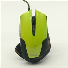 E-Blue Mouse Mazer R, Optical, Wired, green, 2400dpi (PC)