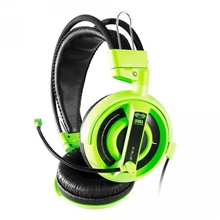 E-Blue, Cobra I, Gaming Headset with Microphone, green, 3.5mm Jack (PC)