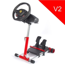 Wheel Stand Pro, Stand for Wheel and Pedals for Thrustmaster SPIDER, T80/T100,T150,F458/F430, red WS0004