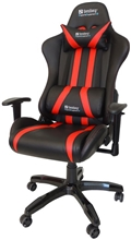 Sandberg Gaming Chair Commander, black-red