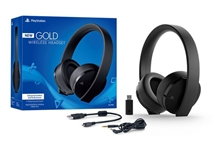 New Sony PlayStation Gold Wireless Stereo Headset (PS4/PS3/PS Vita)