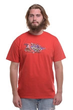 T-Shirt IGN Automat Men - red