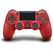 Controller Sony Dualshock 4 V2 (red) (PS4)