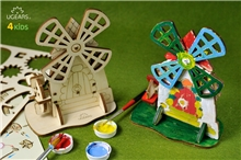 UGEARS Building Kit - Windmill