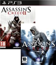 Assassins Creed & Assassins Creed 2 pack (PS3)